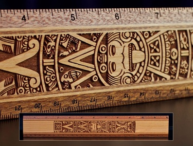 12-inch-wood-ruler-aztec-calendar-454big