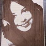 حکاکی چهره بر روی چوب
